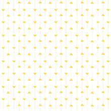 Load image into Gallery viewer, Red Rooster Basically Hugs Fabric Collection | Yellow Small Heart Stripe 25044
