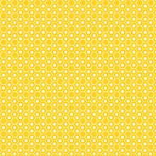Load image into Gallery viewer, Red Rooster  Basically Hugs Fabric Collection | Yellow Hexagon 26422