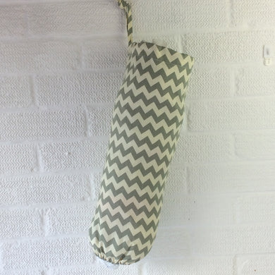 Fabric bag Dispenser, Plastic Bag Storage Chevrons