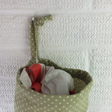 Load image into Gallery viewer, Plastic Bag Dispenser | Bag Storage | Green Dots