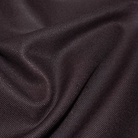 Chocolate Brown Canvas fabric, Plain colours, medium weight.