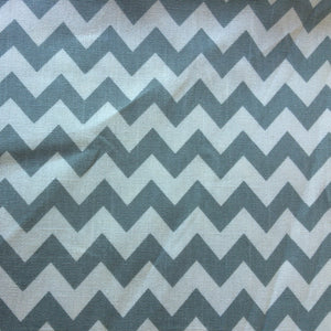 Canvas fabric, Chevron Green