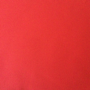 Red Cotton Drill Fabric,