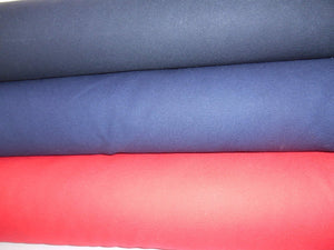 Navy Cotton Drill Fabric,