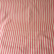 Load image into Gallery viewer, Ticking Fabric, pink stripes
