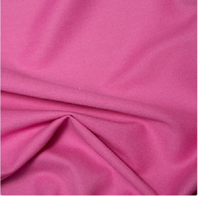 Cerise Pink Canvas fabric, Plain colours, medium weight.