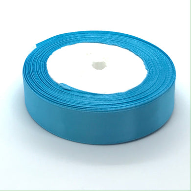 Satin Ribbon | Single Faced | Turquoise