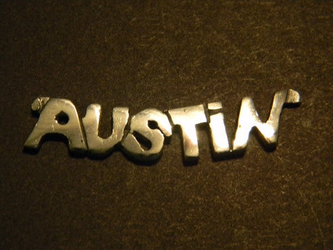 "18"" Sterling Silver Austin Necklace"