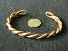 Copper Interwined Bracelet