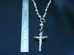 Athena Silversmith Handcrafted Sterling Silver Rosary