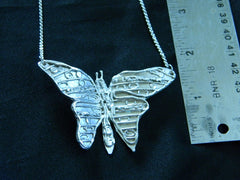 Athena Silversmith Handcrafted Sterling Silver Butterfly Necklace
