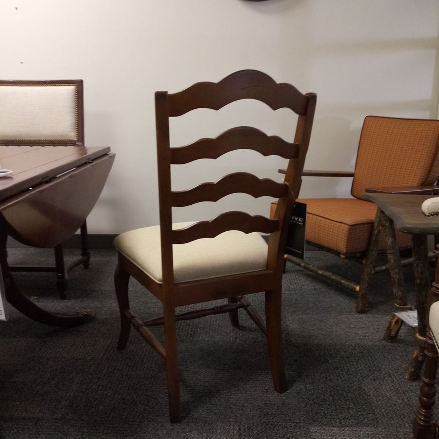 J. Marshall Design Showroom - Saloom Side Chair- RETAIL PRICE $1,610.00 Luxe Side Occasional Chairs