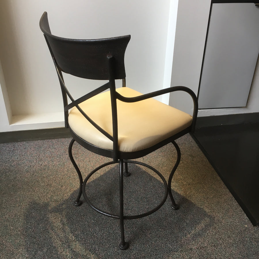 Counter Stool With Swivel - Retail Price $1287 Luxe Counter/Bar Stools