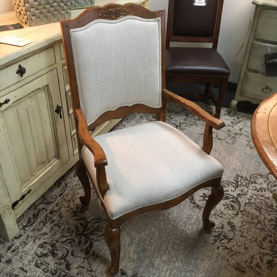Martin-Wood Arm Chair Luxe Dining Chairs