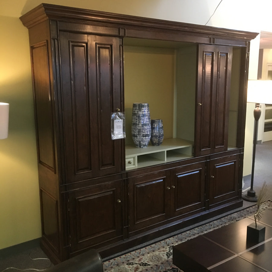 Martin-Wood Entertainment Center Luxe Console Tables/Cabinets