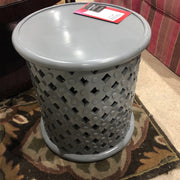 Icarus Side Table SIDE TABLE Gray - Divine Consign