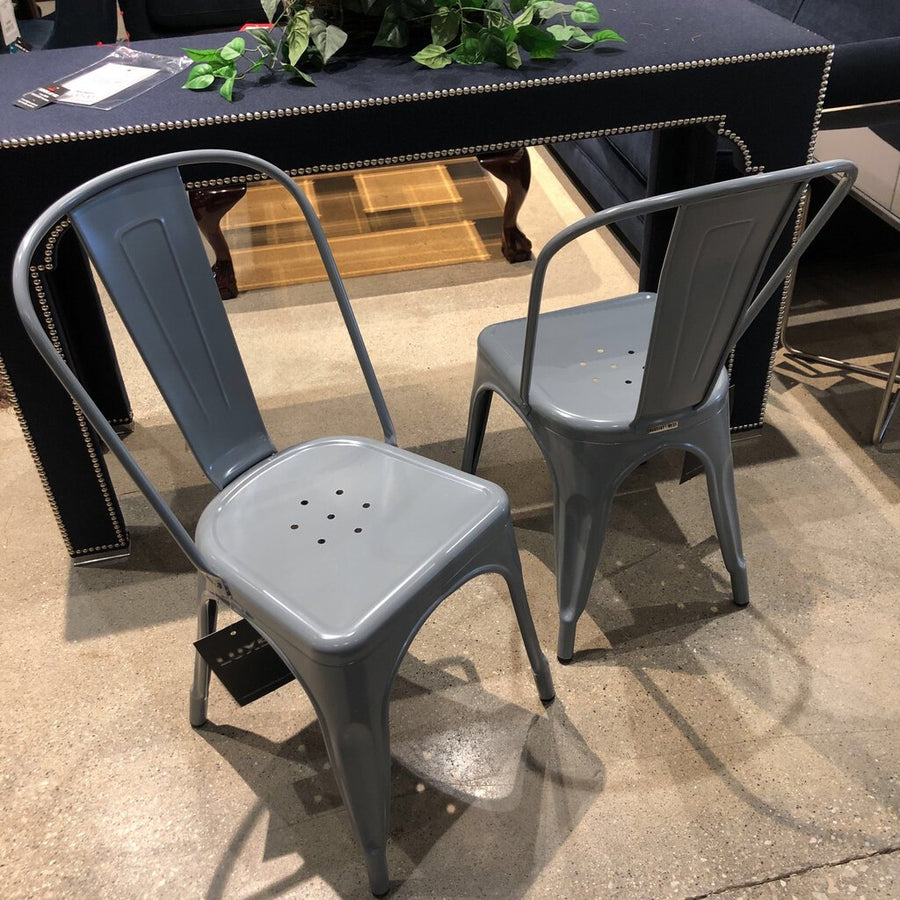 Marais A Side Chair Grey SIDE CHAIRS - Divine Consign
