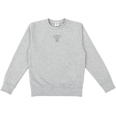 Sweat Marcel made in France et recyclé en coton polyester gris