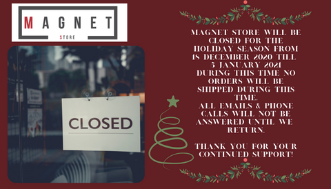 Magnet Store festive season closure dates