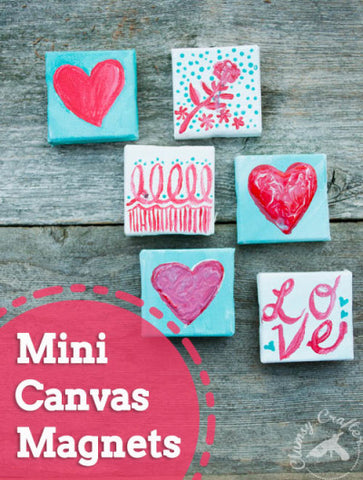 Mini Canvas Magnets