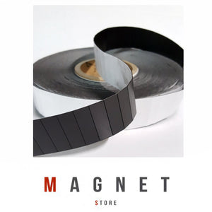 0.75x12x38mm PSA Tile 2500/roll Flexible Magnetic Tiles
