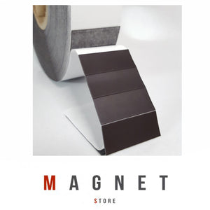 0.8x20x50mm PSA Tiles 1500/roll Flexible Magnetic Tiles