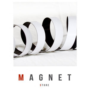 1.5x25.4mm Hi/E PSA Flexible Magnetic Strip