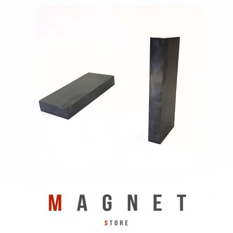 135x56x18mm Y30BH Uncoated Ferrite Block Magnet