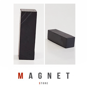 8x8x25mm Y30BH Uncoated Ferrite Block Magnet