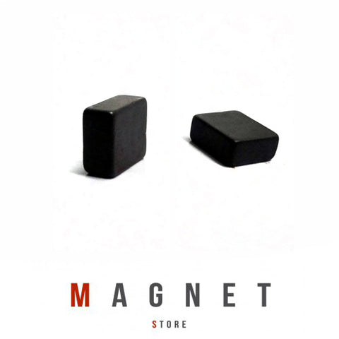 10x8x4mm Y30BH Uncoated Ferrite Block magnet