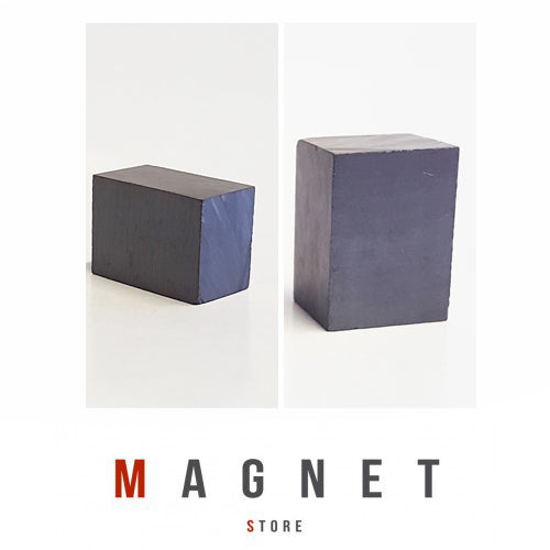 20.5x15x12mm Y30BH Uncoated Ferrite Block Magnet
