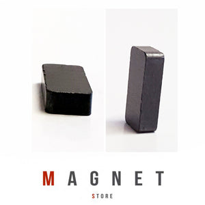 20x10x5mm Y30BH Uncoated Ferrite Block Magnet