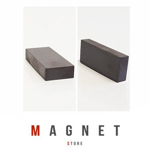 30x12x5mm Y30BH Uncoated Ferrite Block Magnet