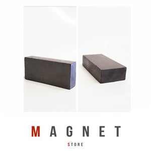 45x20x10mm Y30BH Uncoated Ferrite Block Magnet