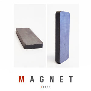 50x19x5mm Y30BH Uncoated Ferrite Block Magnet