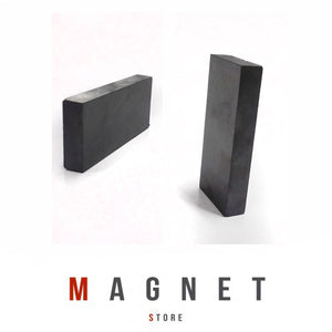 72x32x10mm Y30BH Uncoated Ferrite Block Magnet