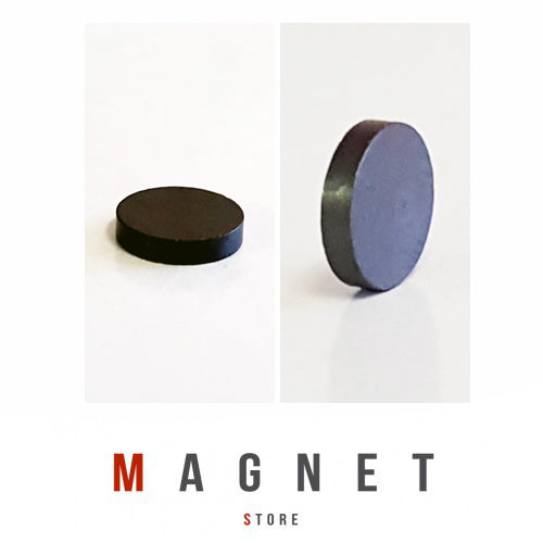 12x2.5mm Y30BH Uncoated Ferrite Disc Magnet