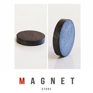 16x3mm Y30BH Uncoated Ferrite Disc Magnet