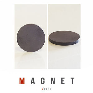 30x3mm Y30BH Uncoated Ferrite Disc Magnet