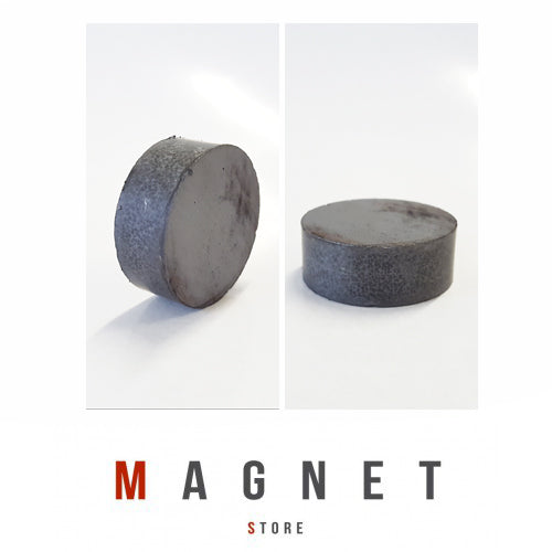 32x12mm Y30BH Uncoated Ferrite Disc Magnet