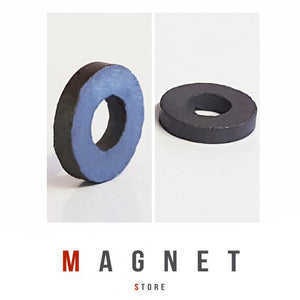 Od16xId7x3mm Y30BH Uncoated Ferrite Ring Magnet