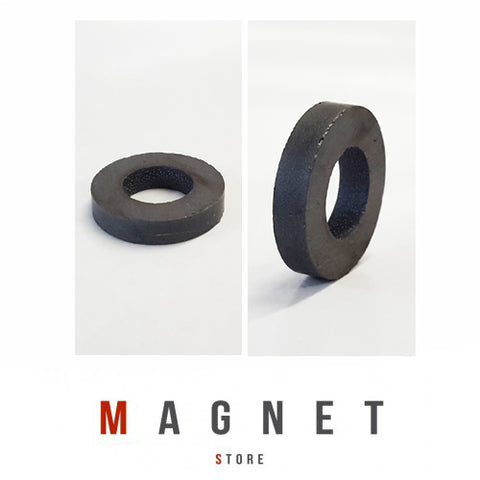 Od25xId12x5mm Y30BH Uncoated Ferrite Ring Magnet