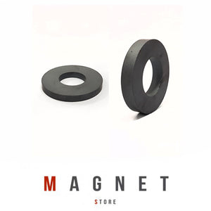 Od60xId32x10mm Y30BH Uncoated Ferrite Ring Magnet