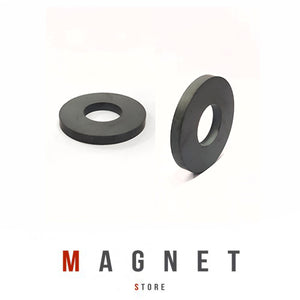 Od72xId32x8mm Y30BH Uncoated Ferrite Ring Magnet