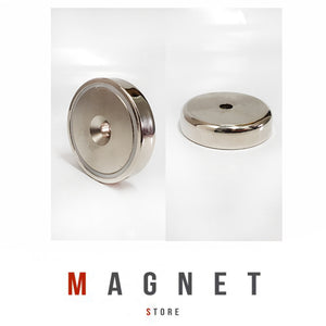 60mm Pot Magnet N35 Ni