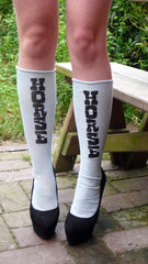HORSE  ~ SKY blue knee sox