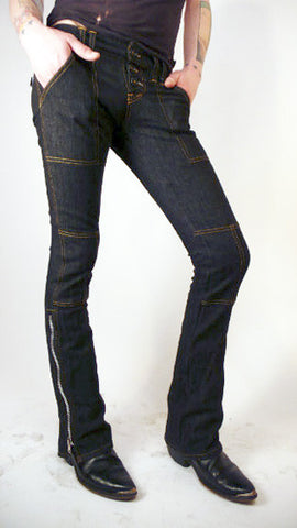 MOTOR: unisex tanner jean ~ jet heavy weight denim