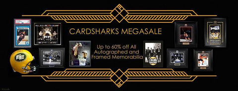 Up to 60% off all memorabilia!