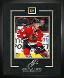 Jonathan Toews Etched Signature Frame