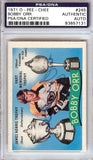 Bobby Orr Autographed 1971 O-Pee-Chee Card #245 PSA/DNA